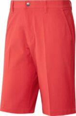 Adidas golfbroek kort Ultimate365 heren polyester koraalrood mt 40