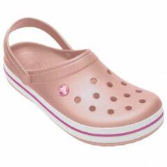 Crocs - Crocband - Sandalen maat M5 / W7, beige/roze