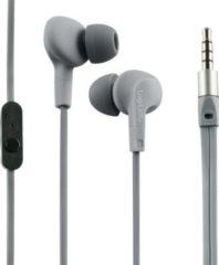 LogiLink HS0041 Wassergeschütztes (IPX6) Stereo In-Ear Headset - grau