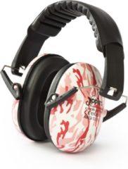 Jippie's gehoorbeschermer kinderen roze camouflage