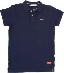 Blauwe Strong .. Polo Regular Fit Navy Blue - Maat XL - Off Side - incl. Gratis rugzak