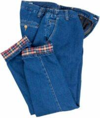 Blauwe Merkloos / Sans marque Thermo jeans, bluestone, maat 60