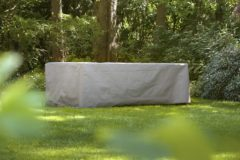 Antraciet-grijze Outdoor Covers Winza Premium Tuinsethoes - 185x150x95cm - Antraciet