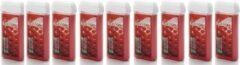 ItalWax 9x Harspatroon Strawberry 100 ml