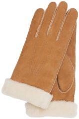 Bruine Otto Kessler Ilvy Dames Handschoenen honey 7