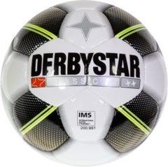 Gouden Derbystar VoetbalVolwassenen - wit/zwart/goud