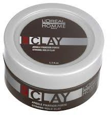 LOréal Professionnel L'Oréal Professionnel Homme Clay – Strong Hold Clay (50ml)