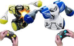 Silverlit Robot Rc Robo Kombat Robots Met Licht En Geluid 2 Stuks