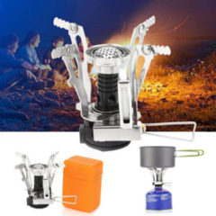 Meco LAOTIE Outdoor Mini Camping Cooking Stove 3000W Portable Ultralight Butane Gas Cooking Furnace