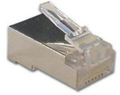Velleman Modulaire Plug Rj45 8p8c Voor Ronde Afgeschermde Kabels - (10 st.)