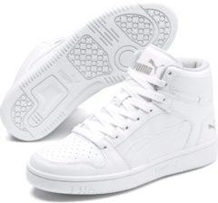 Paarse PUMA Rebound Layup SL Jr Sneakers Kinderen - Puma White-Gray Violet - Maat 38