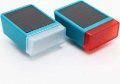 LITTA Fietsverlichting op zonne-energie - Ocean Turquoise