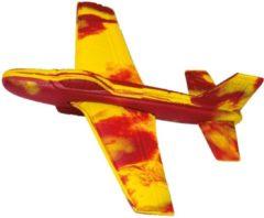 Günther Werpvliegtuig Stunt Glider 18 X 18 Cm Geel/rood