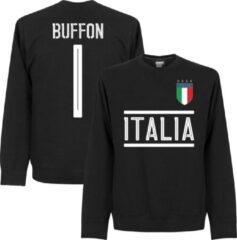 Merkloos / Sans marque Italië Buffon 1 Team Sweater - Zwart - 3XL