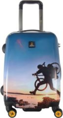 National Geographic ADVENTURE OF LIFE X-BIKER 4-ROLLEN KABINENTROLLEY 55 CM multicolor