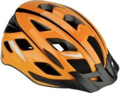 Fischer Fahrrad Urban Sport S/M MTB fietshelm Oranje, Zwart Confectiemaat=M
