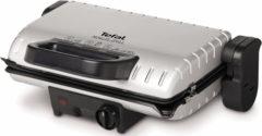 Zilveren Dubbelzijdige Grill Tefal Minute Grill 1600W GC205012