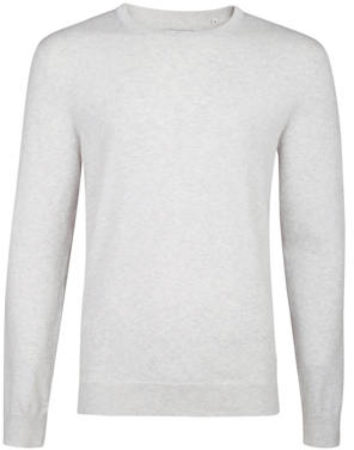 Afbeelding van Grijze WE Fashion Fundamental trui