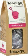 Teapigs Rhubarb & Ginger - 15 Tea Bags