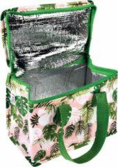 Roze Rex London lunchtasje - koeltas - Tropical Palm