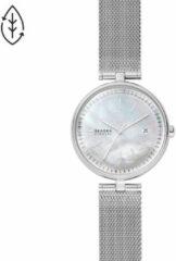 Skagen SKW2979 Horloge Karolina Solar staal zilverkleurig-parelmoer 36 mm