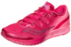Rosa Freedom ISO Laufschuh Damen Saucony berry / pink