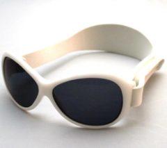 Banz - UV-beschermende zonnebril voor kinderen - Retro - Wit - maat Onesize (2-5yrs)