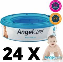 Angelcare Essential Luieremmer Navulcassette - 24 ROLLENAngelcare luieremmer navulcasettes (24-packs)