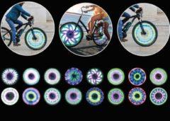 Toitoys Wielverlichting – Spaakwielverlichting – Spaakreflectoren – LED – 16 verschillende Patronen