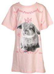 Roze Fun2Wear Bigshirt Rabbit maat 104/110