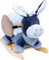 Blauwe Nattou Ezel Alex - Hobbelpaard - Schommelpaard - 10 tot 36 Maand
