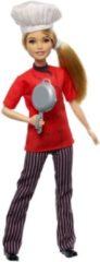 Mattel Barbie Careers Chef-kok - Barbiepop