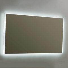 Douche Concurrent Badkamerspiegel Infinity 80x70cm Geintegreerde LED Verlichting Lichtschakelaar