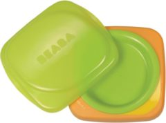 "Groene Béaba ""2-in-1 meegroeibord """"soft"""" Gipsy-Oranje BPA vrij"""
