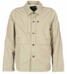 Beige Windjack G-Star Raw RACKAM OVERSHIRT