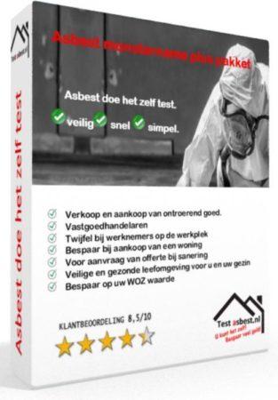 Afbeelding van Test asbest Asbest doe het zelf kleef/stofmonster plus pakket