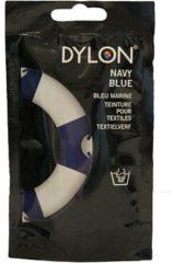 Marineblauwe DYLON Textielverf - Navy Blue - handwas - 50 gr