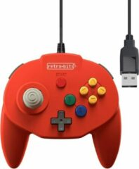 Rode Tribute 64 USB Controller (Red) (Retro-bit)