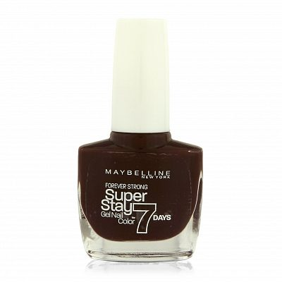 Afbeelding van Rode Maybelline New York Forever Strong nagellak - 287 midnight red