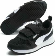 Witte PUMA R78 V Ps Sneakers - Puma Black-Puma White - Maat 30