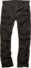 Vintage Industries BDU pants zwart, security outdoorbroek