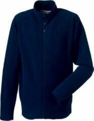 Blauwe Russell Fleece vest navy voor heren XL
