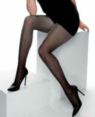 Zwarte Cette Panty Hollywood lurex 25 den 3XL (56/58)