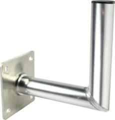 Grijze König Aluminium muurbeugel 250 / 50 mm