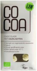 Cocoa Reep Raw Food Hazelnoot Bio 50 gr