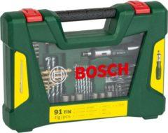 Bosch V-Line TIN Bohrer- / Bit-Set, 91-teilig, Bohrer- & Bit-Satz