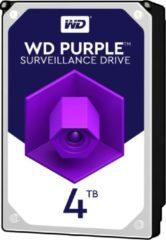 Zilveren Western Digital Purple interne harde schijf HDD 4000 GB SATA III