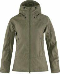 Fjällräven - Women's Abisko Lite Trekking Jacket - Vrijetijdsjack maat S, olijfgroen/grijs