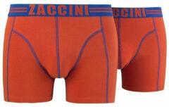 Oranje Zaccini 2-pack boxershorts