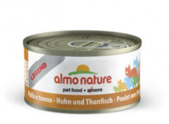 Almo Nature Hfc Cat Natural Blik 70 g Tonijn&Kip Hfc - Kattenvoer